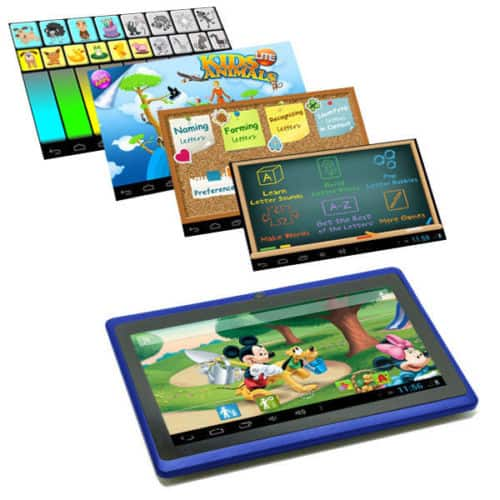 Basic tablet kék