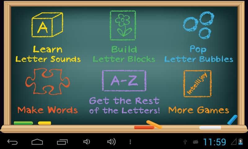 A táblagép számos előre telepített játékkal és tanító programmal rendelkezik, de később még több alkalmazás telepíthető rá.