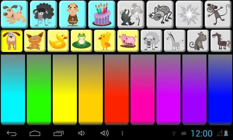Rajzoló, színező és kézügyesség fejlesztő alkalmazások tabletre