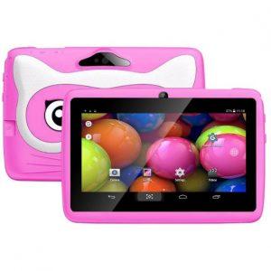 7″ Basic rózsaszín gyerektablet 8Gb (18x12cm)