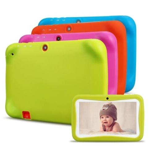Basic táblagéphez való szilikon tok, megvédi a sérüléstől a tabletet. Színválaszték: zöld, kék, rózsaszín, piros és narancssárga