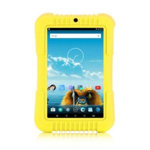 7″ Standard sárga gyerektablet 16Gb (19x12cm) + ajándék MP3 lejátszó