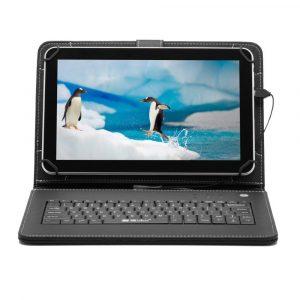 7″ Tanuló tablet 16Gb (18x12cm) fekete billentyűzettel