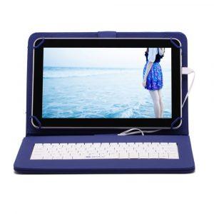 7″ Tanuló tablet 16Gb (18x12cm) kék billentyűzettel