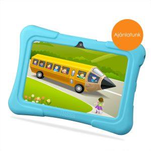 7″ Kids Plus kék gyerektablet 16Gb (18x12cm)