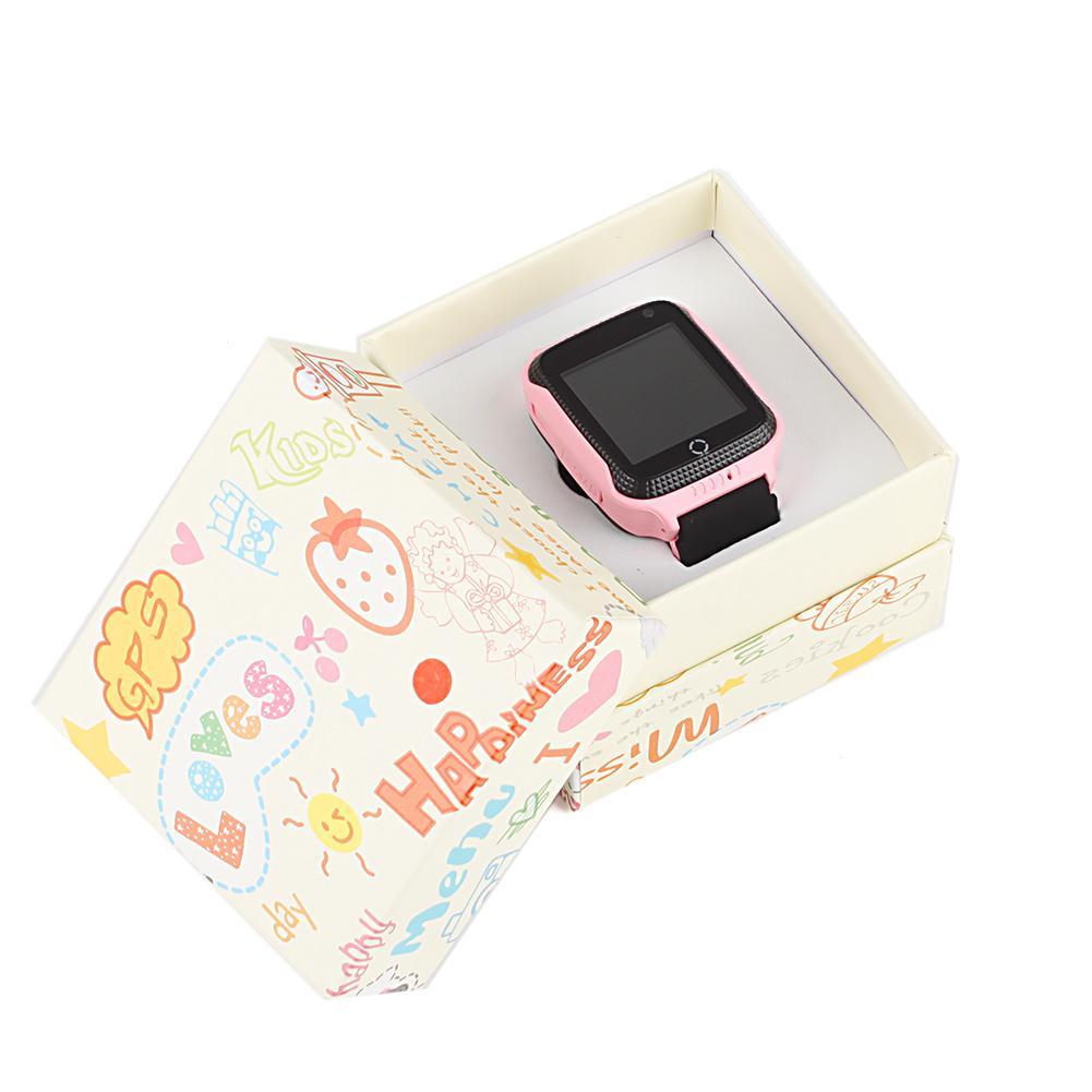 Rózsaszín gyerek okosóra csomagolása