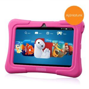 7″ Kids Plus rózsaszín gyerektablet 16Gb (18x12cm)
