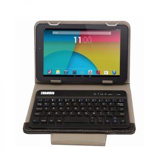 Tablet tok 7″ és 8″ Bluetooth billentyűzettel fekete