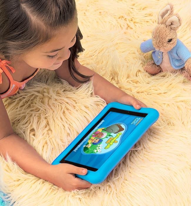 A gyerektablet szórakozás és tanulás egyszerre