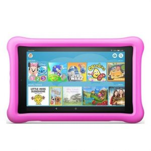 8″ Amazon Fire Kids Edition rózsaszín gyerektablet 32Gb (24x15cm)