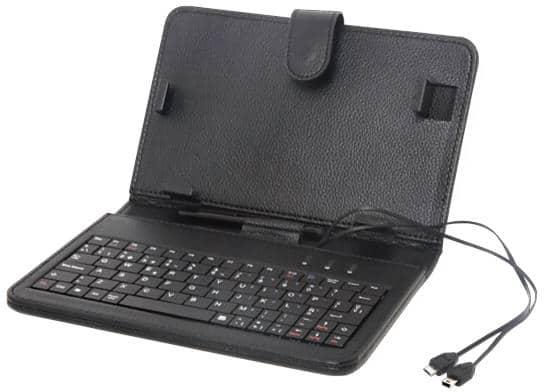 Tablet billentyűzet fekete